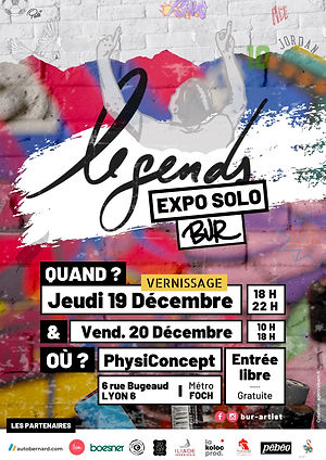 expo legends by bur_affiche1920 decembre