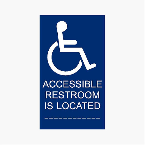 Accessible Restroom is Located _________