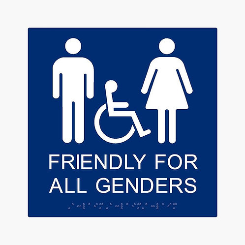 Friendly for All Genders