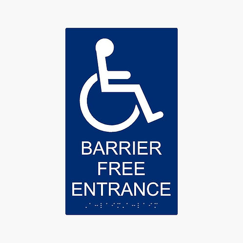 Barrier Free Entrance
