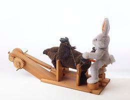 Die Kunst, die alte Sau, und der weiße Hase