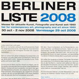 Berliner Liste, Messe für zeitgenössische Kunst