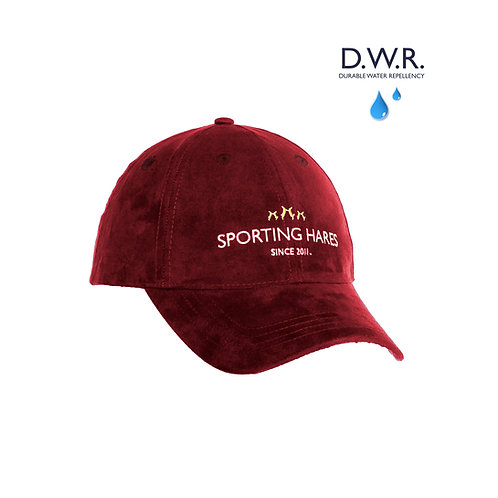 Oxblood Red Collection Hat