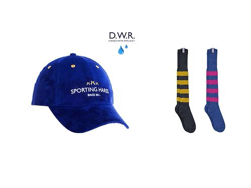 Hat & Duo Sporting Sock Set