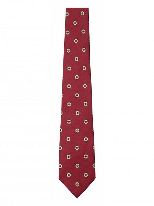 Schoffel Silk Red Tie