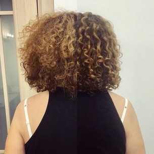 Кудрявые волосы