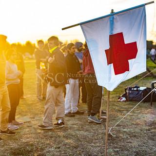 Campamento. Enfermería