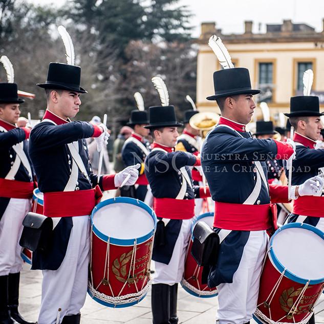 Banda de Regimiento de Patricios.
