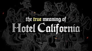 """Who hasn't heard the famous Eagle's Song """"Hotel California""""? If not, you might wanna give it a go and check out this famous song! Also, don't miss out on the haunting lyrics """"You can check out any time you like, but you can never leave"""". Woah."""