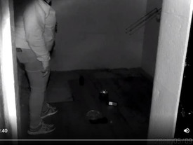 Ultimate Pentridge Overnight Paranormal Investigation: Video From Our Guest