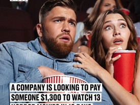 Get Paid For Watching Horror Movies in 10 Days!