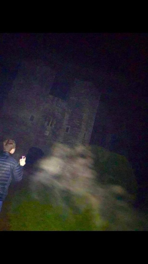 Ghost captured on film at Berry Pomeroy Castle