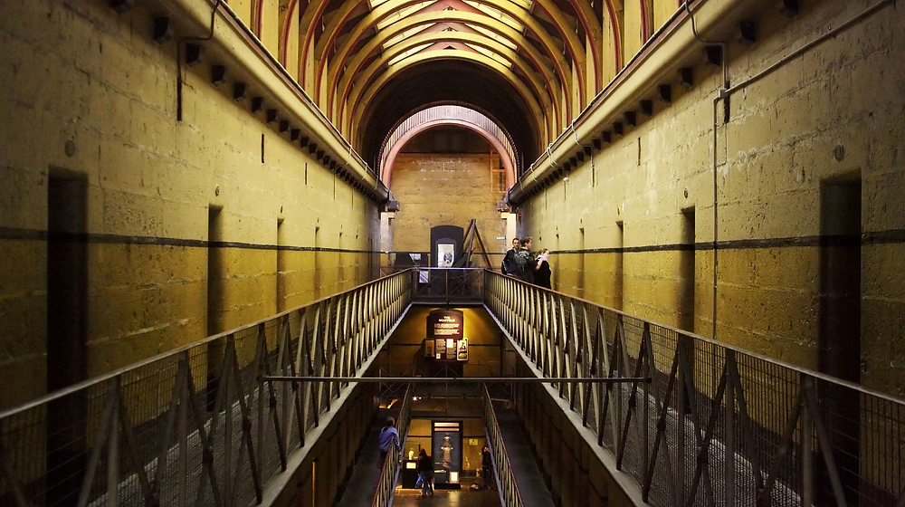 Melbourne boasts some scary, haunted locations, including the Old Melbourne Gaol | © David Wall / Alamy Stock Photo