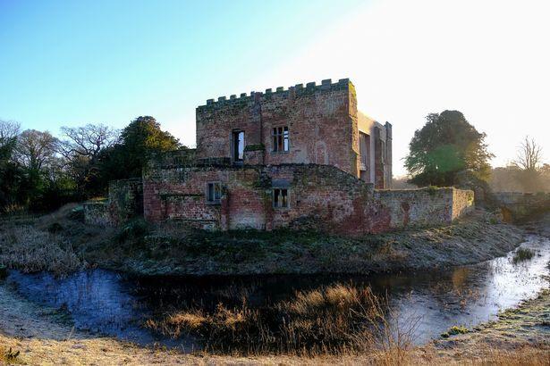 Astley Castle in North Warwickshire