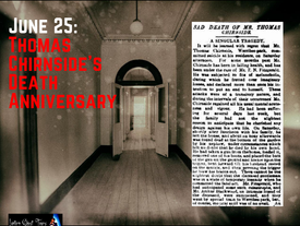 June 25: Thomas Chirnside's Death Anniversary