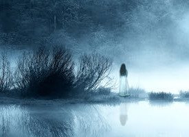 Was an image taken of a child ghost in Queensland?