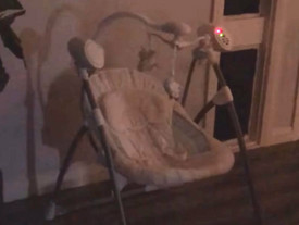 Eerie footage captured inside family's Sydney home