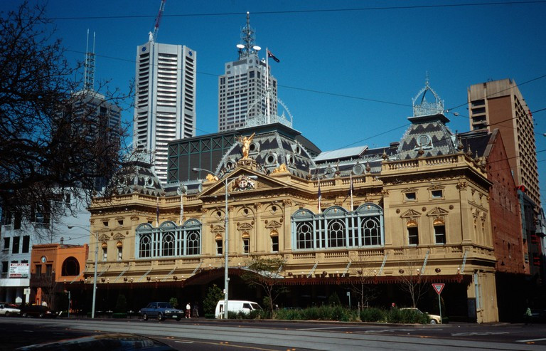 Melbourne's Princess Theatre hosts the biggest musicals and theatrical performances in the city annually.