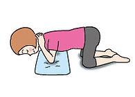 骨盤底筋体操の図 その2