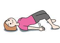 骨盤底筋体操の図 その6