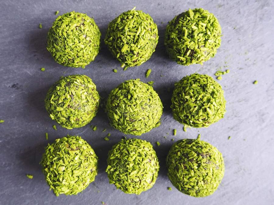 Matcha Balls