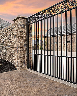 wrought iron gate privacy fencing.jpg