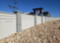 commercial precast fencing privacy fenci