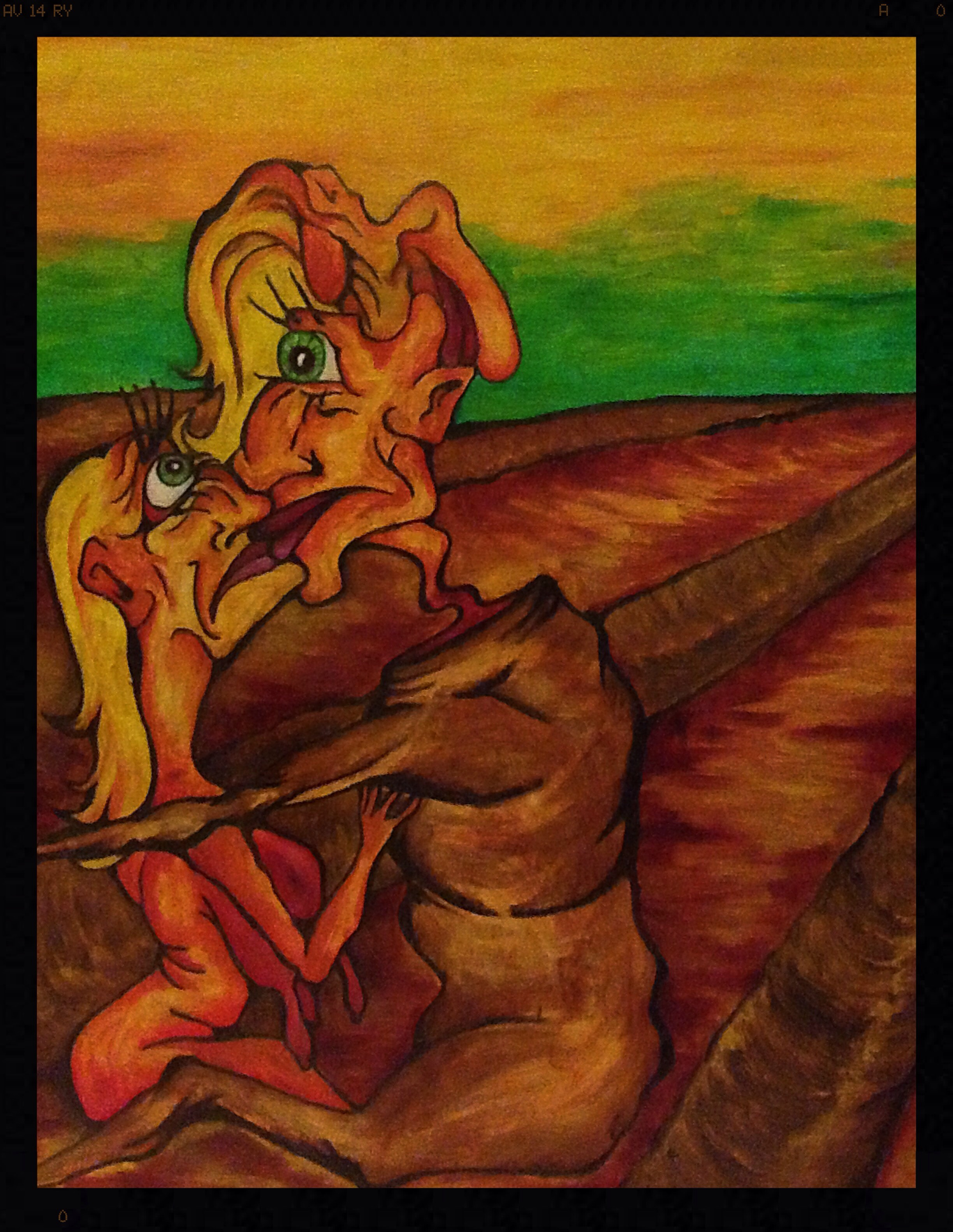 2002, oil on canvas