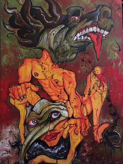 2013, acrylic on canvas