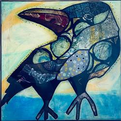 The Crow 12 x 12