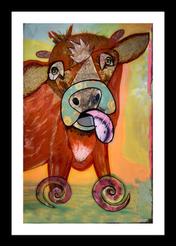 The Cow 20 x 32