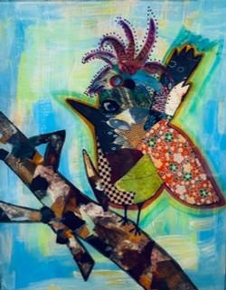 Bird 11 x 14