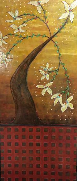 Asian Tree 48 x 72