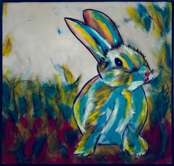 Rabbit 5     8 x 8