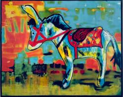 Donkey 10 x 8