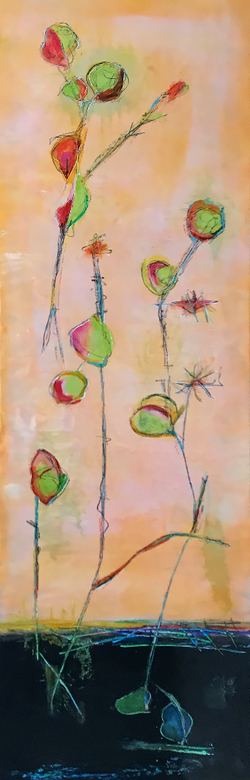 Large Abstract 18x60   $1,800