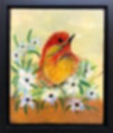 Nesting Bird 13x16  $325