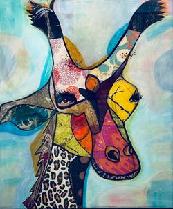 Giraffe 12 x 16