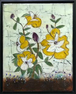 Flowers 12 x 15   $325