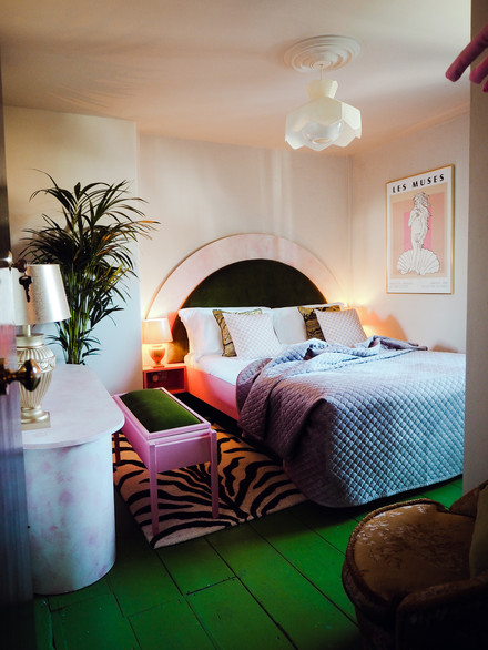 The George and Heart Hotel // Guest Room by Amy Exton and Studio Margate. Photo by Kirsty @labelsforlunch