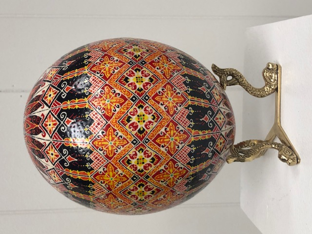 Ostrich Egg Pysanky
