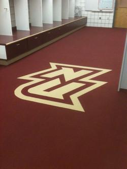 Custom Carpet Logo