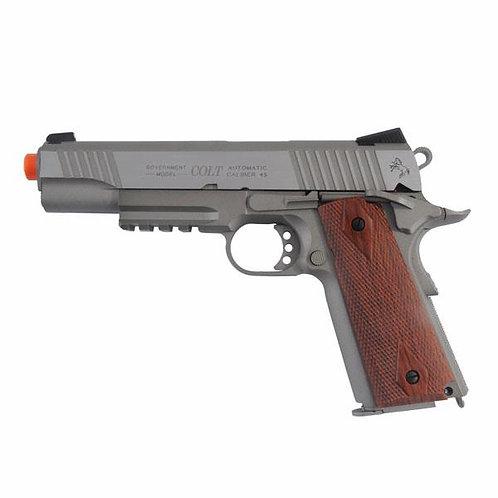 Pistola Aria Compressa Colt 1911 Rail Gun Defence System