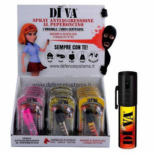 Spray al Peperoncino Diva DIFESA PERSONALE
