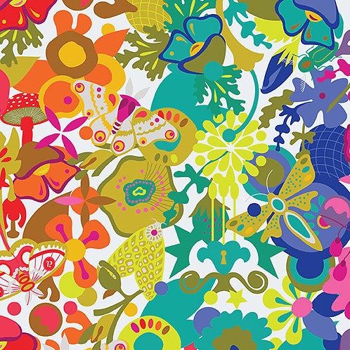 Alison Glass Art Theory - Overall bright modern fabric rainbow
