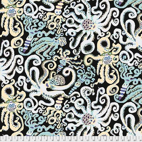 Kaffe Fassett Collective Fabric - Octopus Black