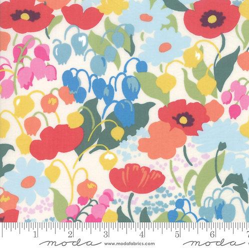 Regent Street Lawn by Moda Fabrics - 3470-11 large floral