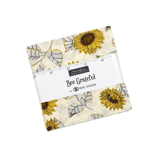 Bee Grateful by Deb Strain for Moda Fabrics - Charm PAck  inch squares patchwork5