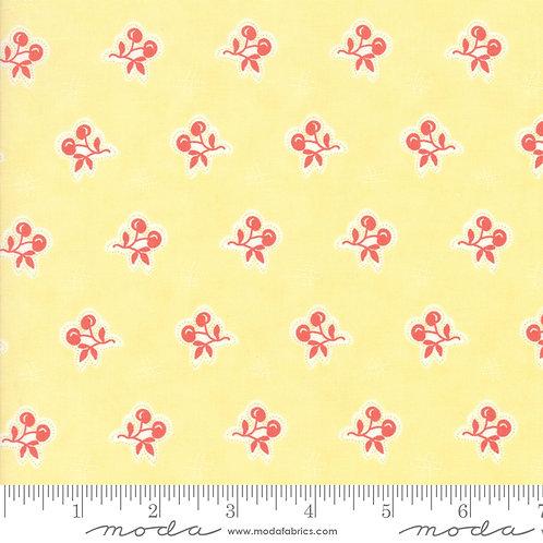 Catalina by Corey Yoder for Moda Fabrics - 73-18 cherries on yellow