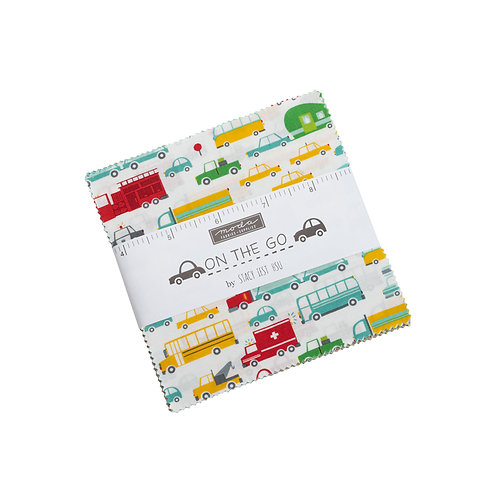 On the Go by Stacy Iest Hsu for Moda Fabrics - charm pack children's